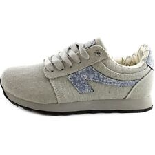 Movmt Cochise Jogger Round Toe Canvas Sneakers Women's Jogging Shoes Gray Size 6