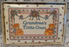 Lucy Rigg Grandma'S Little Ones Bears Baby Photo Album Brag Book inBox Cr Gibson