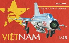 Eduard 11115 1:48th Scale Limited Edition Model Kit Vietnam MIG -21 pfmv