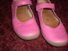 NATURINO Ballerinas **TOP** Riemchen, Klettverschluss, Pink Gr. 38 Gebraucht