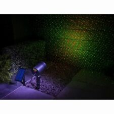 4 light Function Auto on/off Outdoor use Solar Powered Laser Light Projector New