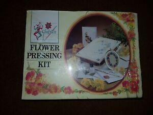 Craftkit Flowerpressing Kit