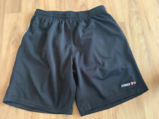 Mens MACRON Black Shorts Size XXL