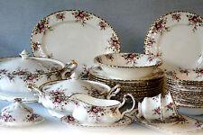 ROYAL ALBERT ' COTTAGE GARDEN '  TEA SET AND TABLEWARE - ENGLISH BONE CHINA