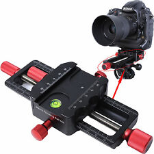 150mm Macro Focusing Rail Slider Close-up Shooting Tripod Head Camera Support