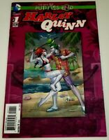Harley Quinn #1 3D Lenticular Cover DC Suicide Squad Futures End New 52 Joker