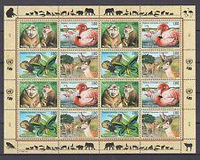 UNO Genf 1998 postfrisch MiNr. 330-333  Gefährdete Arten