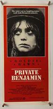PRIVATE BENJAMIN Movie Poster (Fine+) AUSTRALIAN Daybill 1981 13 1/4x27 1/2 252