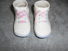 Ceramic Set Of Baby Shoes