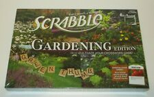 NEW & SEALED Scrabble Gardening Edition Board Game