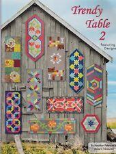 The Trendy Table 2 - 15 fabulous table runners - Anka's Treasures