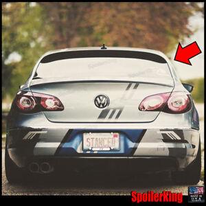 SPKdepot 380R (Fits: Volkswagen CC 2009-on) Rear Roof Window Spoiler Wing