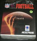 Vintage NFL Coaches Club Football Big Box Pc Game By MicroProse 1993