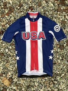 USA Cycling Team USA Assos Short Sleeve Jersey Size XS