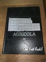 Vintage ARKANSAS TECH 1990 Agricola Yearbook Photo Album Russellville Arkansas -
