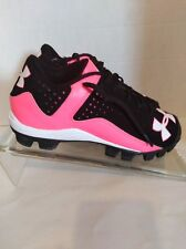 Under amour athletic Baseball tennis shoes size 4T Rotational tract