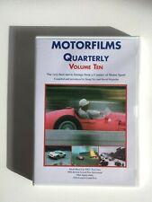MOTORFILMS QUARTERLY - Volume Ten - DVD OOP - 1956 British Grand Prix