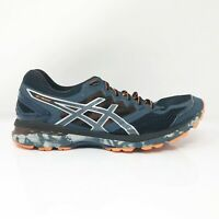 Asics Mens GT 2000 4 T611N Gray Blue Running Shoes Lace Up Low Top Size 11