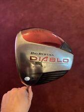 New listing Callaway Big Bertha Diablo Driver 10* Regular , Left handed W/ Head Cover