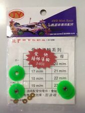 Mini 4WD 1/32 car JY 20mm Roller With Ball Bearings.