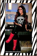 "Nicole ""Snooki"" Polizzi, ""Jersey Shore"" Actress Signed 5 1/2"" x 8 1/2"" Photo COA"
