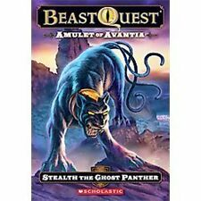 Beast Quest #24: Amulet of Avantia: Stealth the Ghost Panther by Blade, Adam, Go