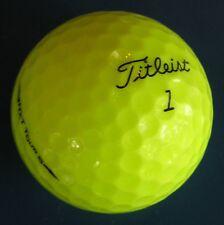 15 Titleist NXT Tour S Yellow golf balls Grade AAAAA Best 5A balls  LOT 89035
