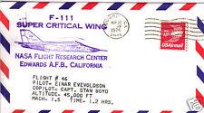 NASA - Super Critical Wing Flight #46 - Enevoldson/Boyd