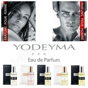 15ml SAMPLES NO LID YODEYMA PARIS PERFUME FOR MEN CHOOSE SCENTS 3 For £10.50!!!