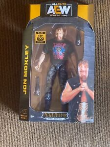 AEW UNRIVALED SERIES 2 JON MOXLEY JAZWARES WRESTLING FIGURE NEW CHASE 1/500 RARE