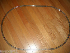 """N"" SCALE TRAIN TRACK SET ABOUT 30 BY 20 INCHES SET OF AN OVAL TRACK (NEW)"