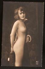 ancienne photo érotique de maison close 217 AN Paris femme nue fin XIX ème