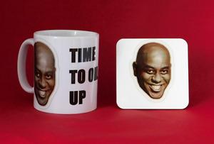Ainsley Harriott Meme Inspired Tea Coffee Mug 11oz and coaster
