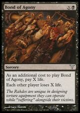 MTG 1x BOND OF AGONY -Dissension *Top Finisher FOIL NM*