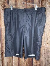 Quiksilver Amphibians Hybrid Walking Board Swim Shorts Gray Men's Size 38
