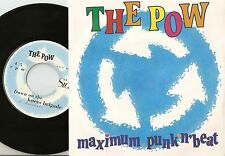 THE POW MAXIMUM PUNK N` BEAT TOP OF THE WORLD/KNEES ITALY 45+PS 1992 MOD REVIVAL