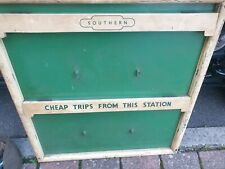 More details for railway sign southern key /notice board