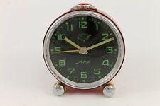 1950's Vintage Russian MIR Alarm Clock Pigeon 11 Jewels USSR
