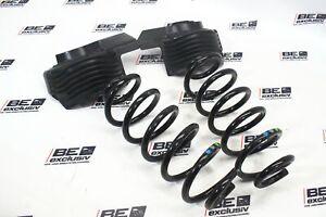 Audi A6 4G 3.0 TFSI Schraubenfedern Federn Spiralfedern SET hinten 8K0512297E