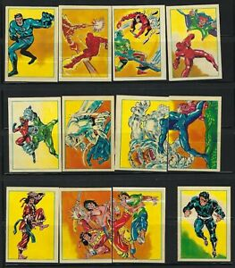 1980 Marvel Superheroes stickers A.G.E. France Marvel ,U-Pick.
