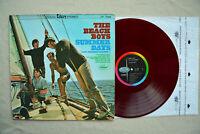 BEACH BOYS~Summer Days~RED Vinyl JAPAN LP 1965 CP-7386 Capitol Records Excellent