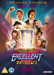 Bill & Ted's Excellent Adventure DVD New Sealed
