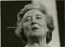 Orig.Photo, Mrs. Lena Jeger, britische Politikerin 1970