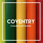 COVENTRY | PVC Leatherette | Faux Leather | Vinyl | Available in 35 Colours