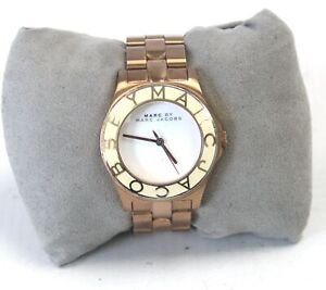 MARC by MARC JACOBS MBM3075 Rose Gold Toned Wristwatch Spares/Repairs - O06