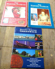 THE MARITIME YEAR BOOK NO 2 & NO 3 & GUIDE TO HISTORIC MARITIME GREENWICH