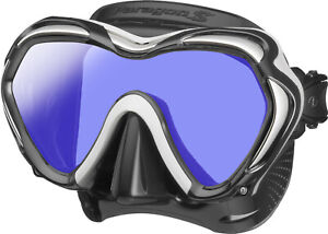 Tusa Paragon S Mask Scuba Diving, FreeDiving, Snorkeling White