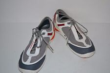 Sebago Men's DIVER/ Gray/WHITE ATHLETIC TENNIS SHOE SZ 9 M NEW
