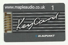 Blaupunkt Casablanca CM62 7 641 460 512 Keycard No 1 - Brand New Genuine Part