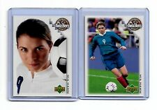 MIA HAMM 2002 Upper Deck Twizzlers Soccer Cards # 1 and # 2  of  2